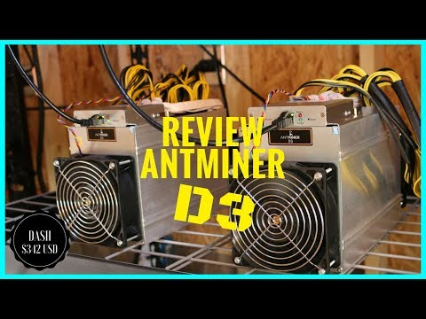 Bitmain Antminer D3 X11 Dash Miner Review - Should You Buy An Antminer D3?