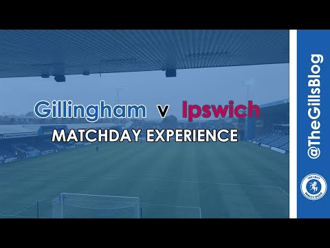 Matchday Experience - Gillingham v Ipswich Town - Pre--Season Friendly