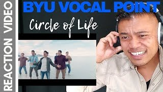CIRCLE of LIFE (THE LION KING) by BYU VOCAL POINT   Bruddah Sam's REACTION vids