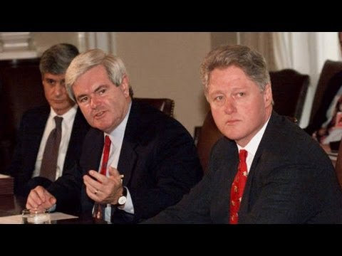 Newt Gingrich Remembers Government Shutdown of 1995