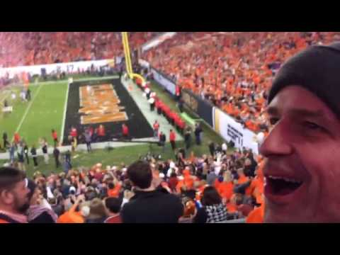 Clemson wins National Championship! Final play and celebration
