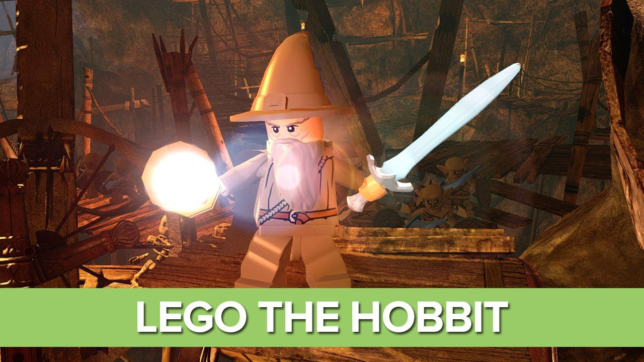 Lego The Hobbit Gameplay Preview - New Gameplay