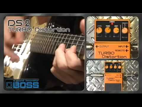 DS-2  TURBO Distortion [BOSS Sound Check]