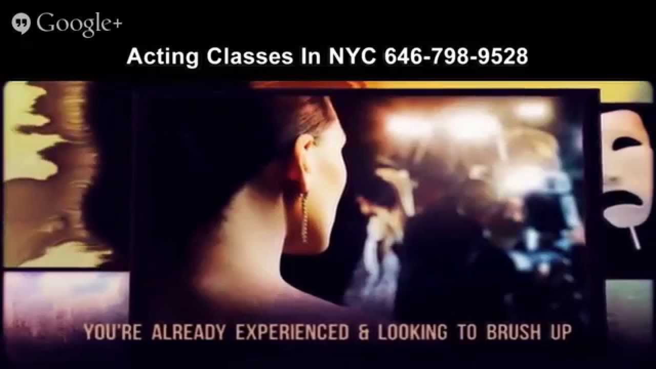 Where to take beginner acting classes in Manhattan?