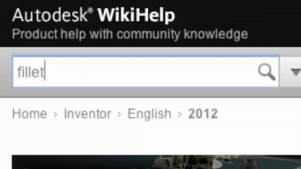 Introduction to autodesk wikihelp