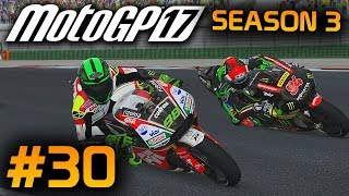 MotoGP 17 Career Mode Part 30: MotoGP Misano 2017! (Rider Career - MotoGP 2017 Game PS4 Gameplay)