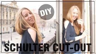 DIY Cut Out Ärmel - DIY Fashion April, Tutorial, deutsch