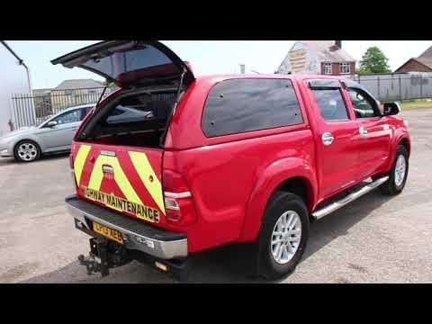 Direct Company - 2013 Toyota Hi lux Invincible D-4D - Clwyd Car Auctions Ltd