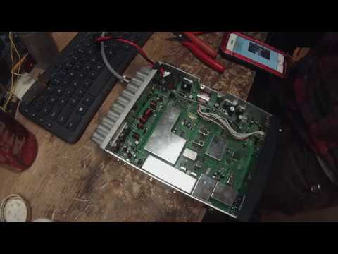 Anytone at6666 IRF520 mosfet swap!!!