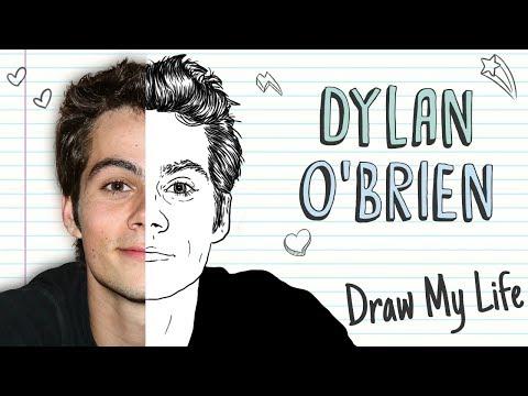 DYLAN O'BRIEN  Draw My Life Teen Wolf Maze Runner