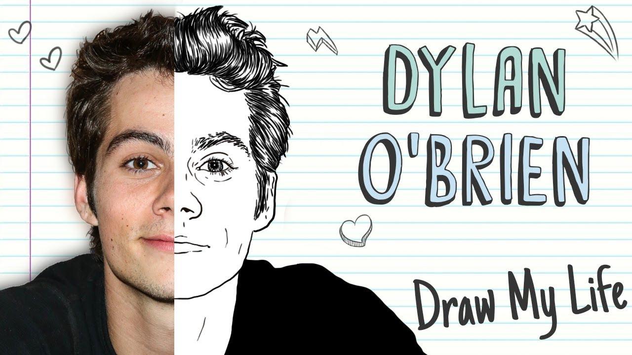 DYLAN O'BRIEN | Draw My Life Teen Wolf Maze Runner