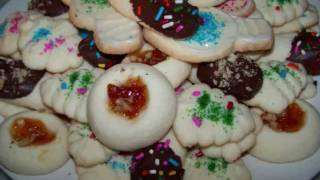 Gluten Free Christmas Cookies - Easy Butter Cookies