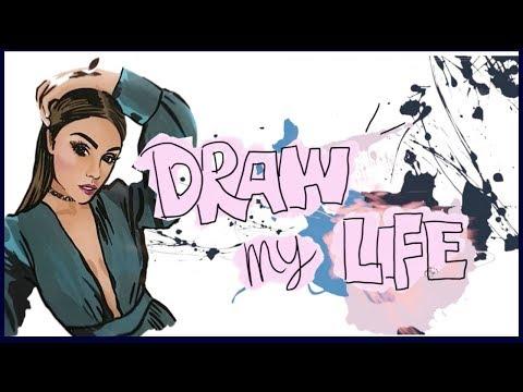 DRAW MY LIFE ( MI VIDA EN DIBUJOS) ! - Pautips