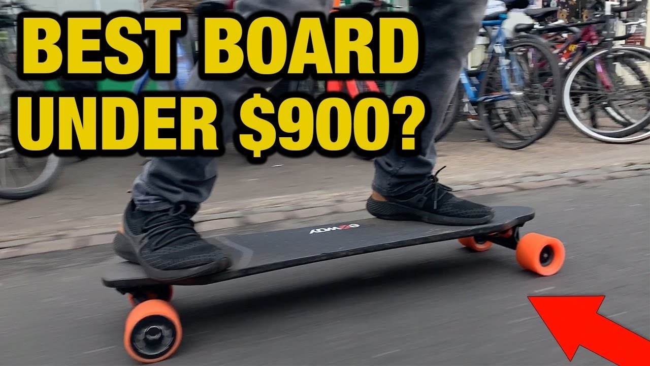Exway X1 Review  Best electric skateboard under $900 ?  YouTube