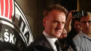Predsednik KK Partizan Ostoja Mijailović posle završene sezone   SPORT KLUB Košarka