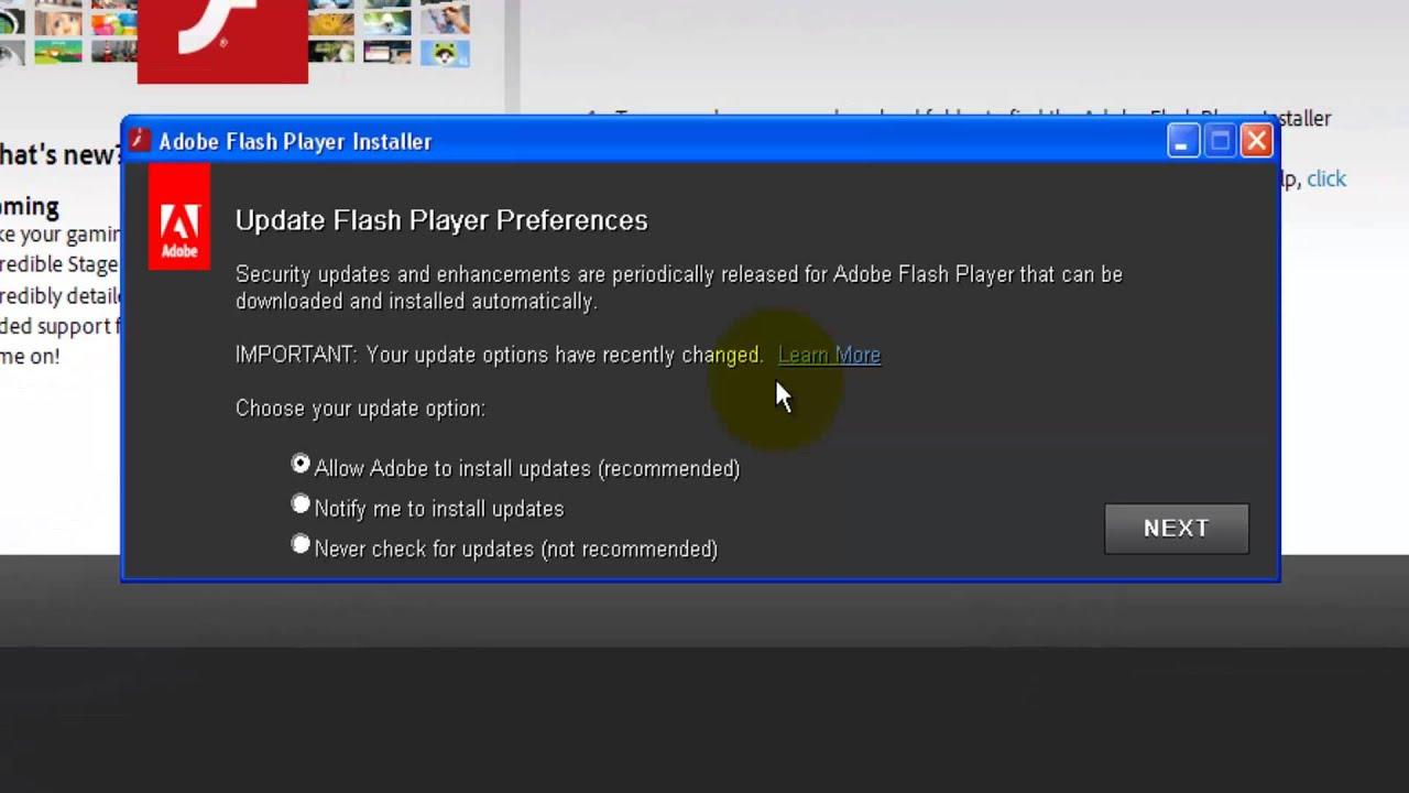 adobe flashplayer installation in firefox youtube rh youtube com Adobe Flash Player Full Screen Latest Adobe Flash Player Update