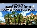Universal's Hard Rock Hotel Full Room & Pool Tour! (WORLD OF MICAH)