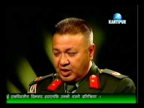 Brig Gen Ramindra Chhetri @ Fire Side (Kantipur TV)