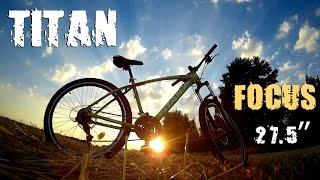 Тестдрайв велосипеда TITAN FOCUS 27.5