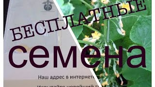 Бесплатные семена по почте(Бесплатные семена от Челябинской селекционной станции бесплатные образцы и пробники на https://cosmobrand.ru групп..., 2016-04-28T11:29:24.000Z)