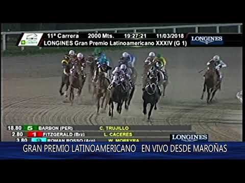 Hipódromo de Monterrico   Cl  Longines Gran Premio Latinoamericano de Jockey Clubes G 1   8va Carrer