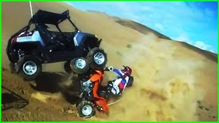 EPIC DIRT BIKE & ATV CRASHES & FAILS!!