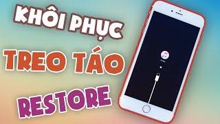 Khôi phục iPhone bị treo táo - Dương iPhone