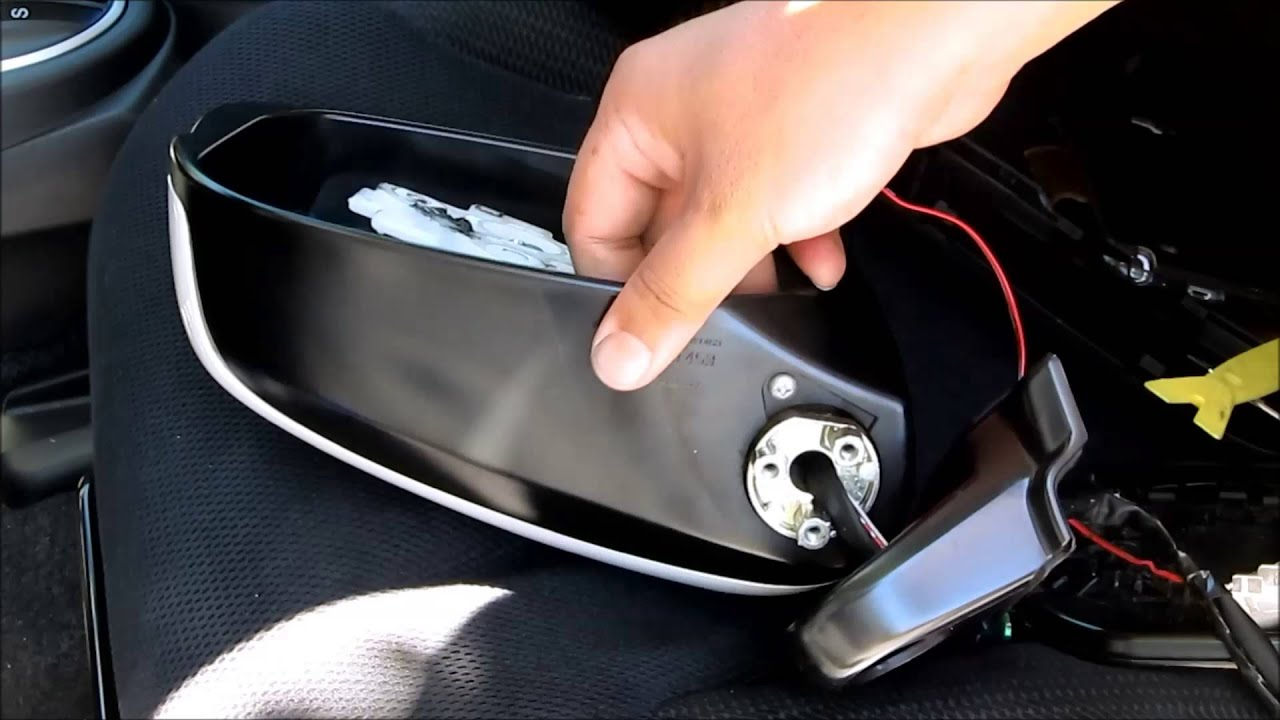 honda odyssey wiring diagram vivint thermostat diy fit led side mirror cover installation - youtube