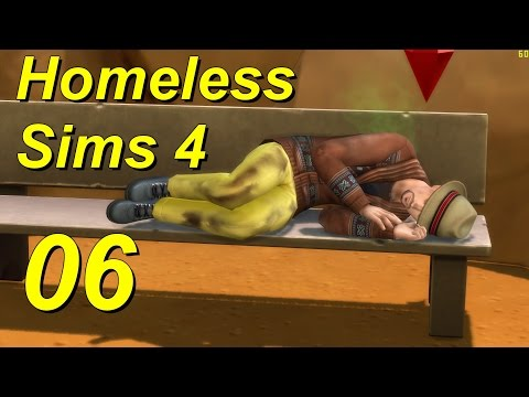 Homeless Sims 4 Episode 06 Night at the Museum