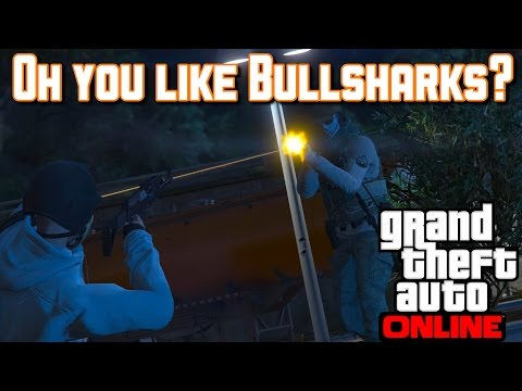 Breaking News   Really, Bullsharks?   Trolling   GTA V online Gameplay (PS4)