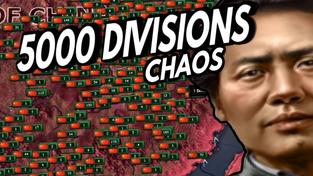 Breaking Hearts Of Iron 4 By Conscripting All Of China - Hoi4 A2Z