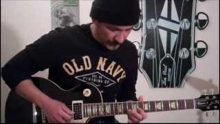 Deep Purple - Highway Star - Keyboard Solo Guitar Tutorial