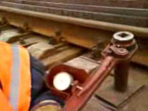 Железнодорожник даёт интервью