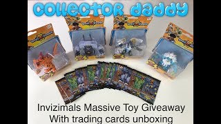 Invizimals Massive toy giveaway with Trading Card Game pack opening