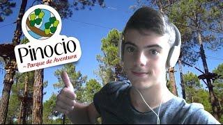 Pinocio Parque de atracciones Segovia aventura entre los arboles verano 2016