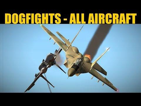 4 Vs 4 Dogfights   All Aircraft   DCS WORLD