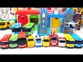 Wheels on the bus Tayo the little bus Mini Bus & Emergency cars toys Nursery rhymes YapitTV Toys