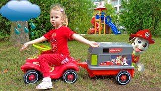 Щенячий Патруль Спасение и детские площадки Видео для детей Paw Patrol Survival on the playground