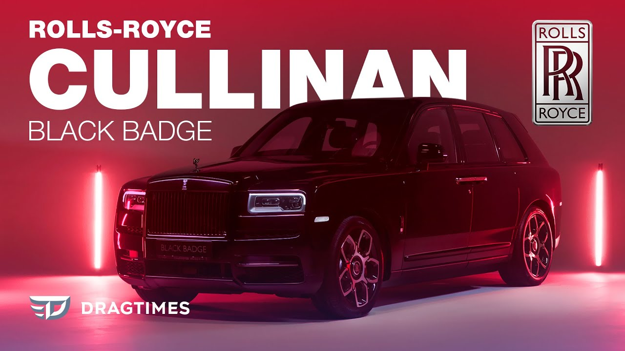 DT Test Drive — Rolls Royce Cullinan Black Badge