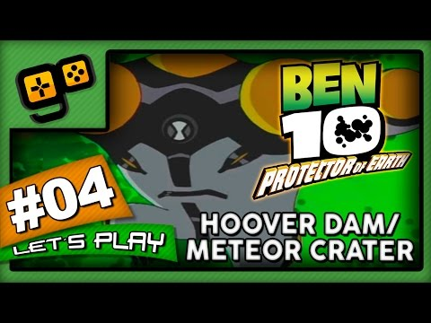 Let's Play: Ben 10 Protector of Earth - Parte 4 - Hoover Dam/Meteor Crater
