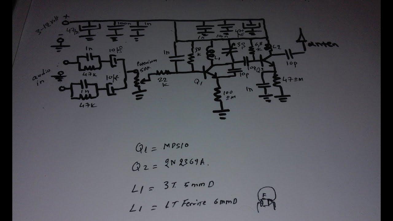 Quality Fm Transmitter 500 Mwatt Youtube Circuit
