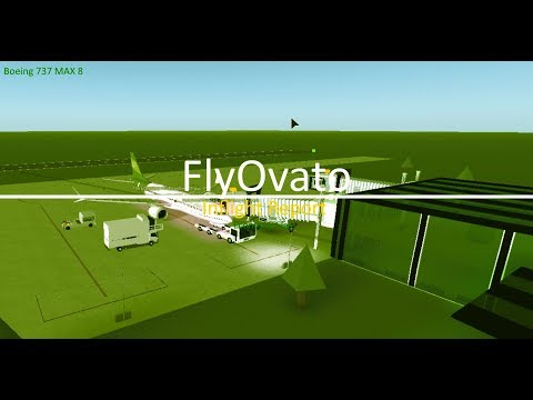 [Roblox] Fly Ovato Boeing 737 MAX 8 Inflight Report (Economy)