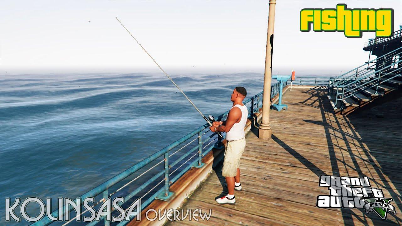 гта 5 моды рыбалок