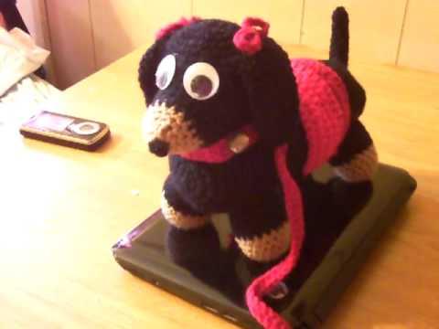 Amigurumi Lion Perritos : Crochet amigurumi dachshund youtube