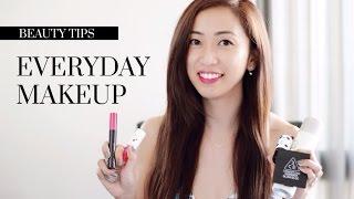 Everyday Makeup Tutorial ft. Korean and Japanese Makeup Products, korean makeup, japanese makeup, everyday makeup