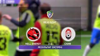 Обзор матча Hell Energy Скиф Турнир по мини футболу в Киеве