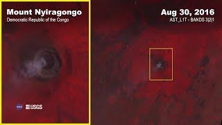 Mount Nyiragongo Eruption Activity Captured by Terra ASTER