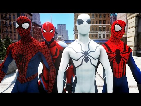 ALL SPIDER-MAN SUITS PART 1