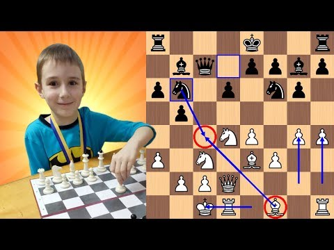 "7-Year-Old Chess Prodigy gives ""Very Epic Mate"" to Chess Master"