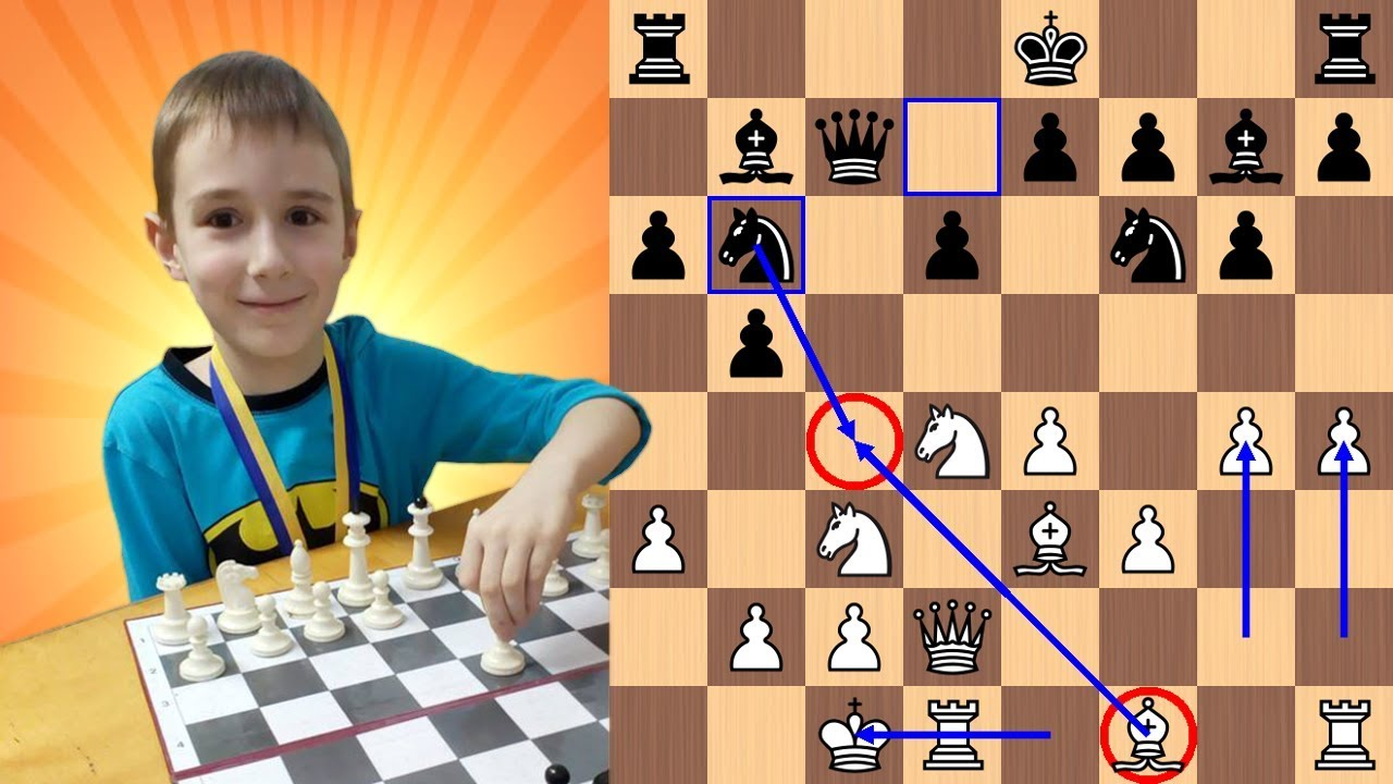 7 Year Old Chess Prodigy Gives Very Epic Mate To Master